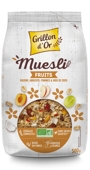 Muesli fruits 500g