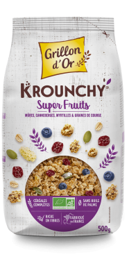 Krounchy super fruits 500g