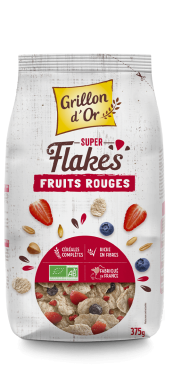 Super flakes fruits rouges 375g