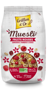 Muesli fruits rouges 500g