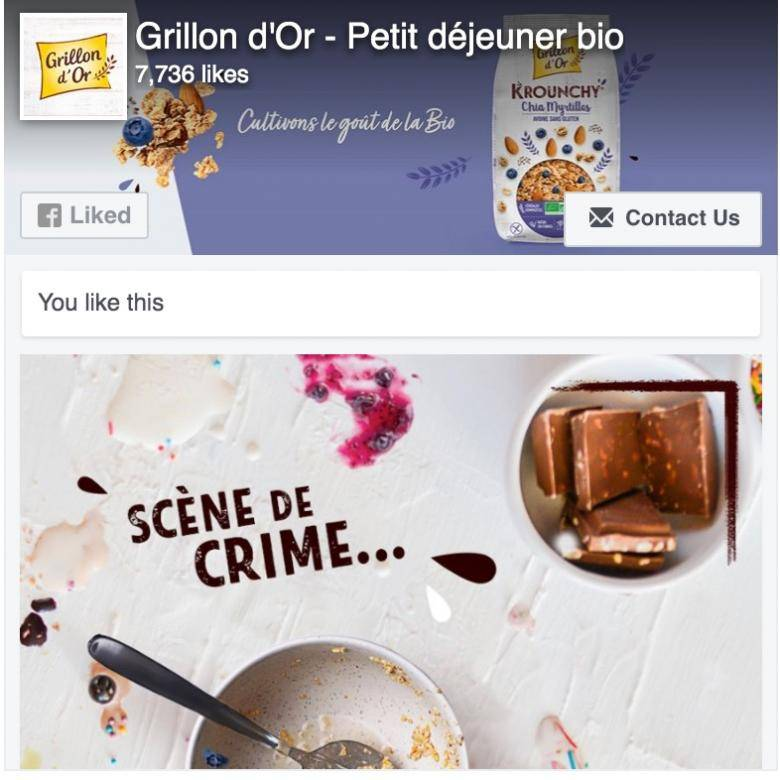 Facebook Grillon d'Or